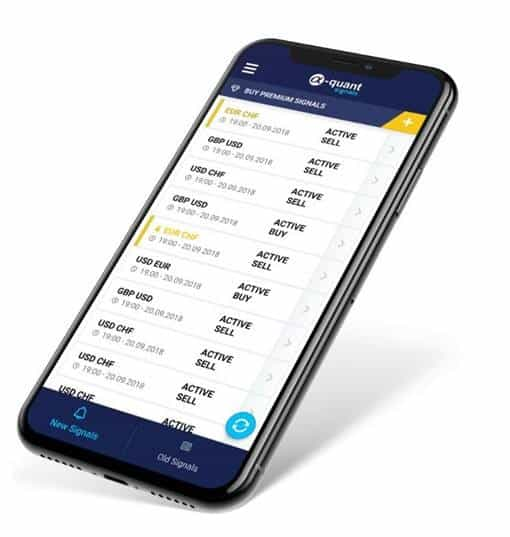 a-quant mobile trading app