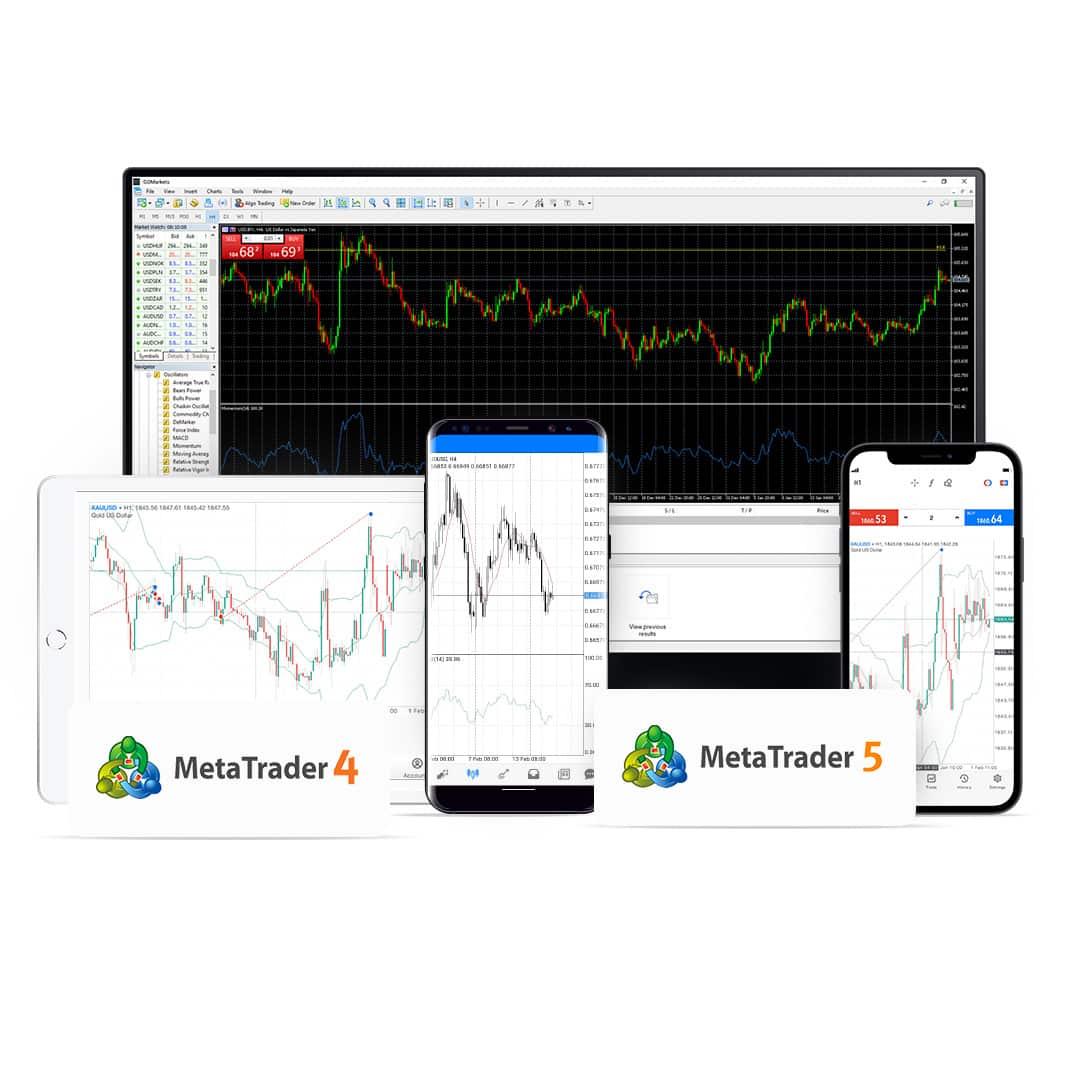 MetaTrader 5 and MetaTrader 5 platforms